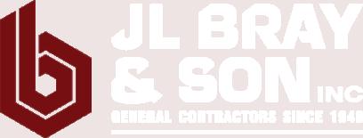 JL Bray red b logo